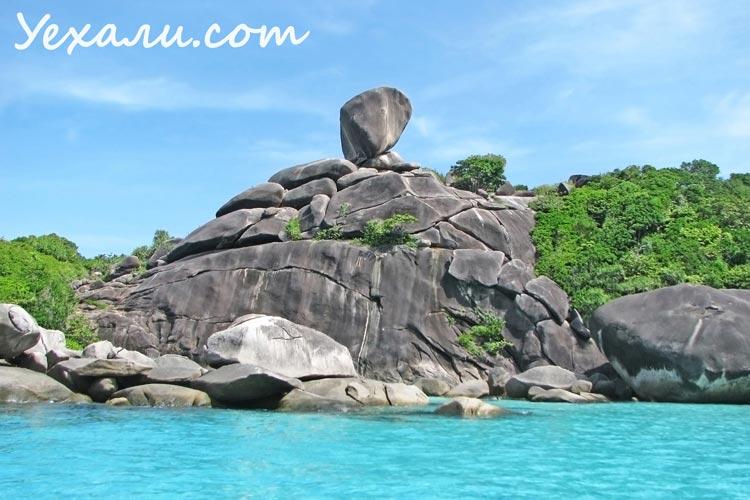 Симиланские острова, Таиланд.