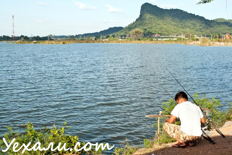 Fishing in Pattaya