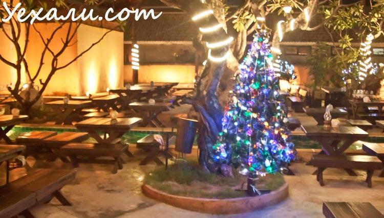 Новый год в Паттайе. Мум Арой ресторан
