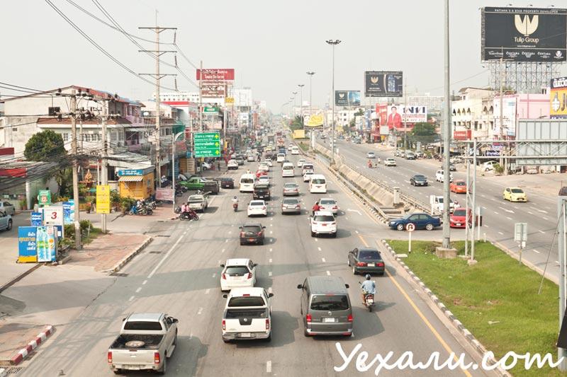 Жизнь в Таиланде. Левостороннее движение