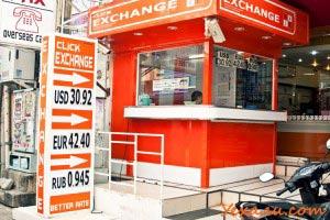 Money exchange Pattaya (near Friendship Supermarket)