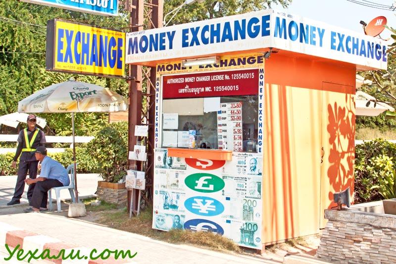 Курс рубля к тайскому бату в Паттайе