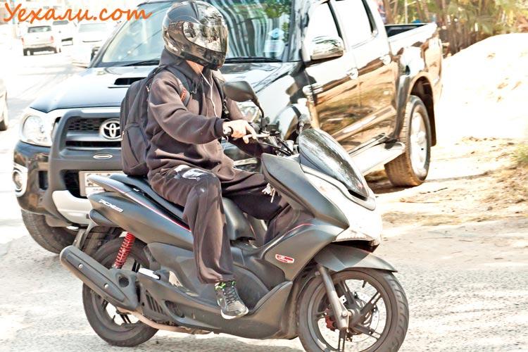 Температура в Паттайе зимой. Тайский байкер