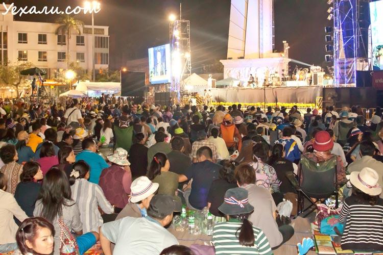 Ситуация в Бангкоке сегодня, митинги в городе
