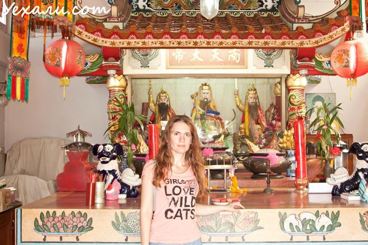 Интересные факты о Китае. Китайский храм в Паттайе