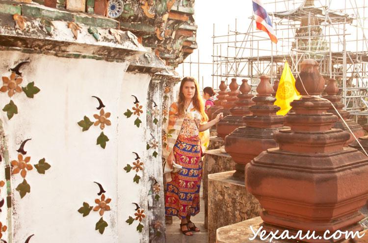 Правила поведения в буддийских храмах для женщин