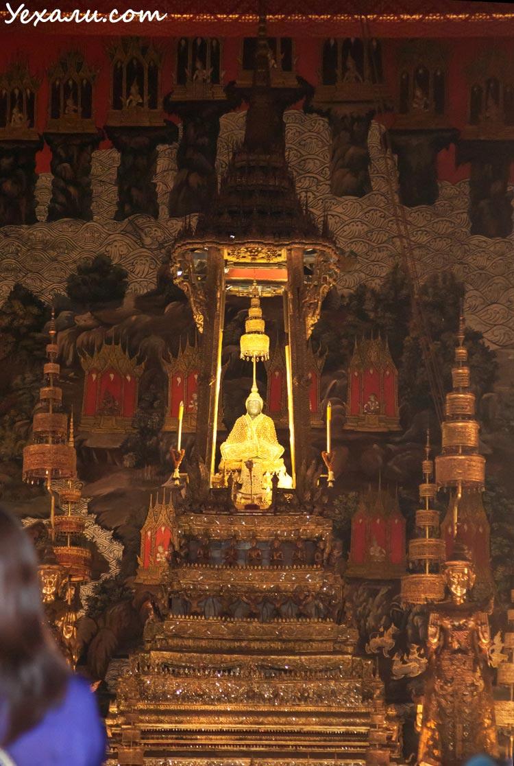 Фото изумрудного Будды в Бангкоке