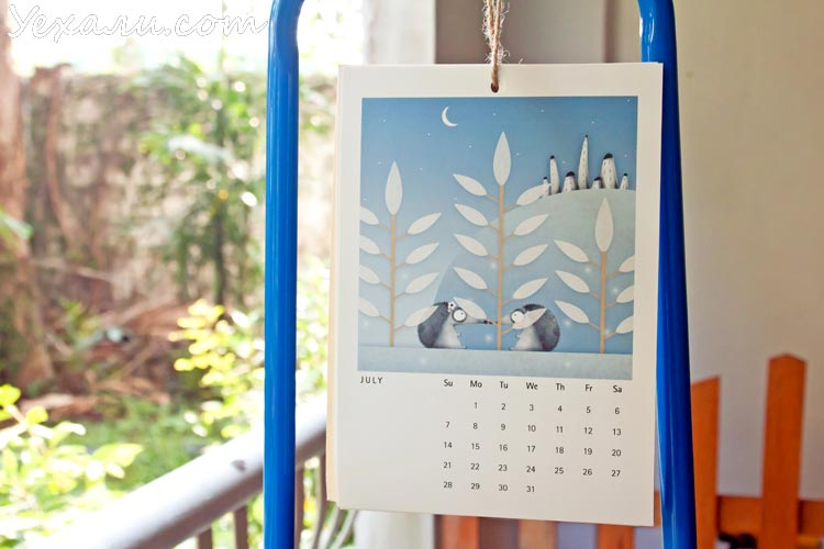 Hedgehogs Calendar