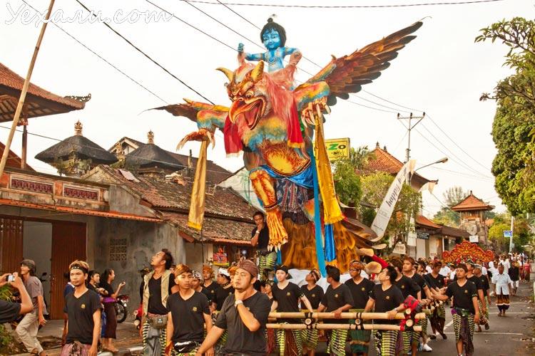 Балийский Новый год Ньепи 2014