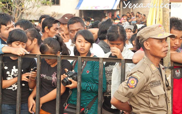Балийцы в Новый год