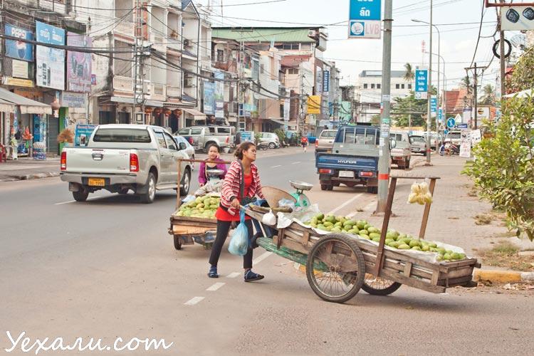 Улицы столицы Лаоса