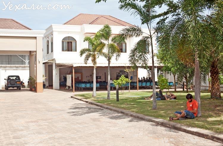 Тайское посольство во Вьентьяне