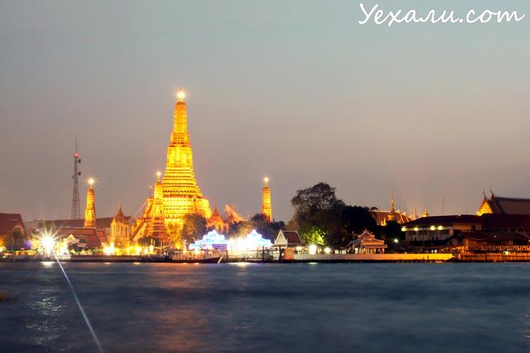 Ват Арун (Храм Утренней зари в Бангкоке)