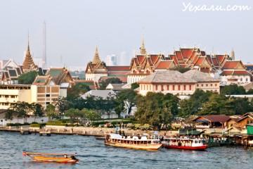 Bangkok Aerial View Wat Arun