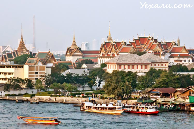 Фото Бангкока с Ват Арун на Ват По