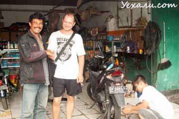 Motorbike repair Bali