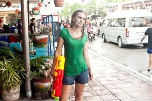 Сонгкран (тайский Новый год) в Паттайе