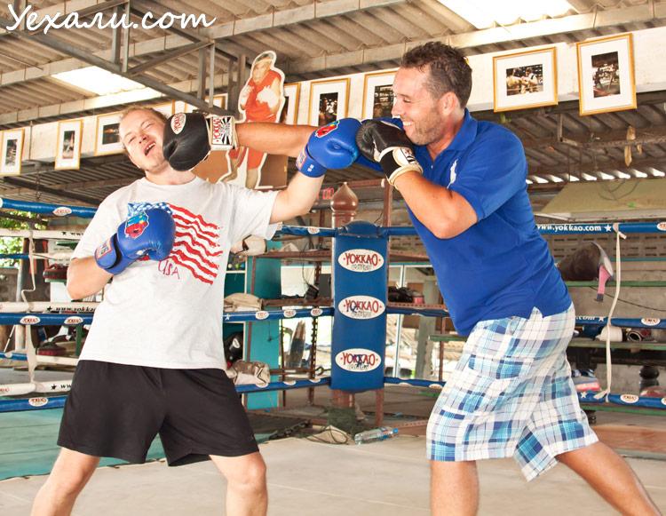 Тайский бокс (муай тай) в Паттайе