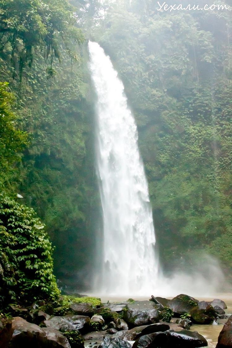 Достопримечательности Бали: водопад Нунг-нунг
