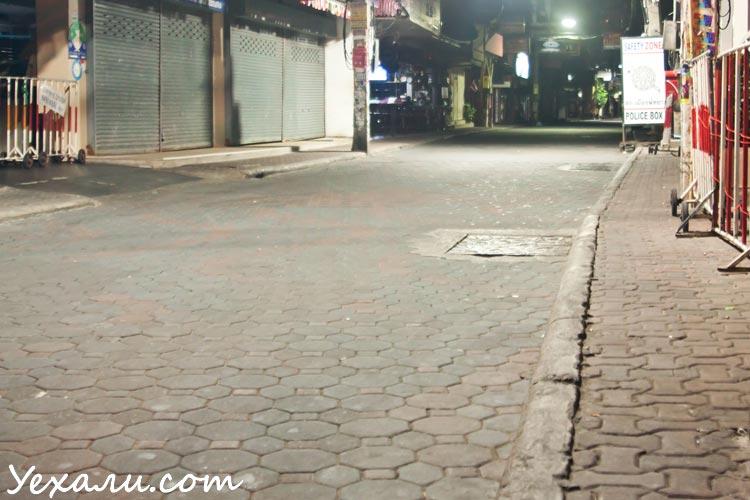Комендантский час в Паттайе: Волкин стрит, фото
