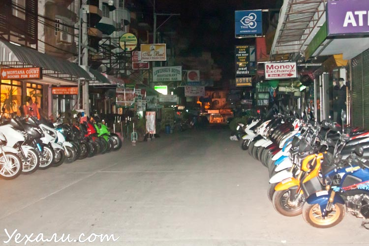 Ситуация в Тайланде сегодня: ночная жизнь