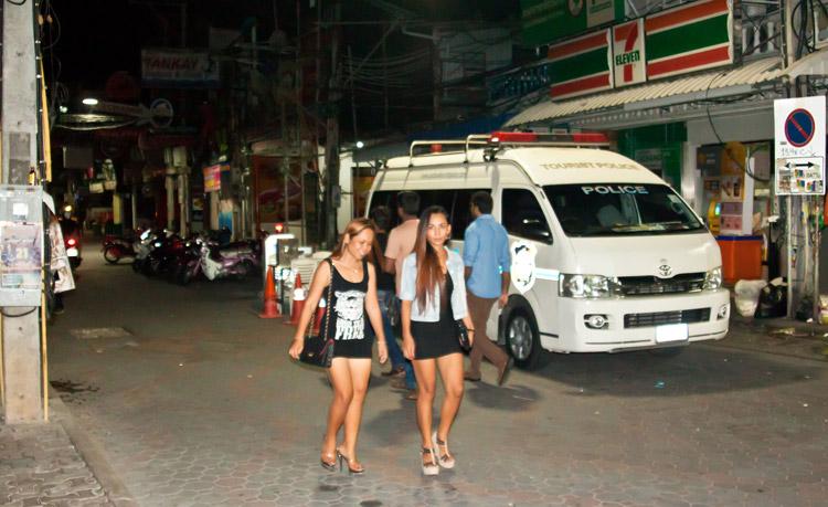 Walking Street (Волкин стрит) в Паттайе