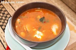 Тайский суп Том ям: фото