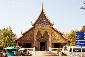 Интересные факты о Чиангмае: храм Ват Чианг Ман
