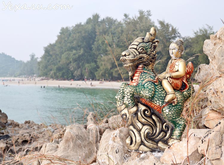 Хат Нанг Рам: самый чистый пляж в Паттайе
