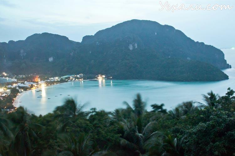 Лучшие фото заката: Краби, остров Пхи-Пхи Дон