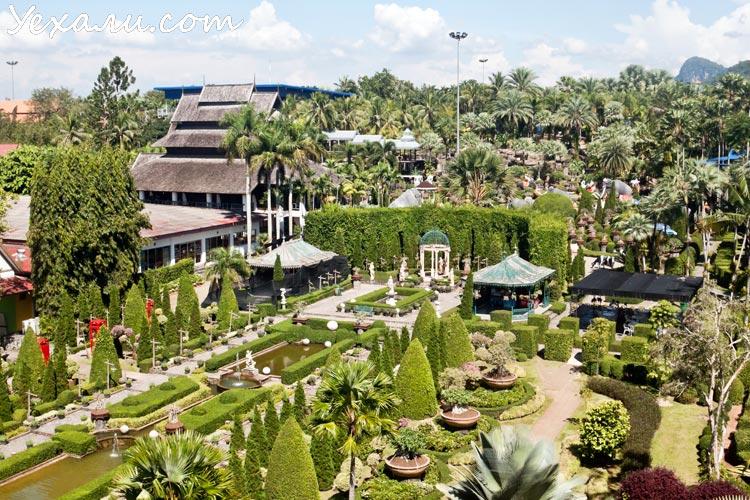 Тропический парк Нонг Нуч в Паттайе, фото