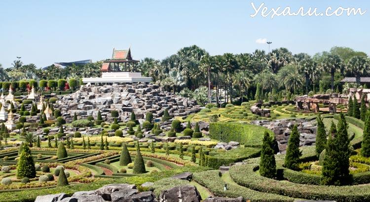Ботанический сад Нонг Нуч в Паттайе, Фото