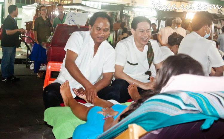 Экскурсия в Бангкок из Паттайи: массаж на Каосан роад