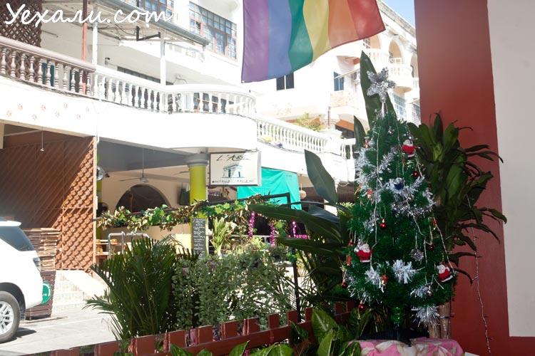 Новый год в Паттайе, гей-клуб