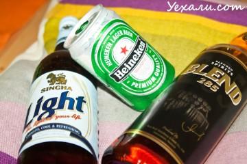 Алкоголь в Тайланде: пиво и виски