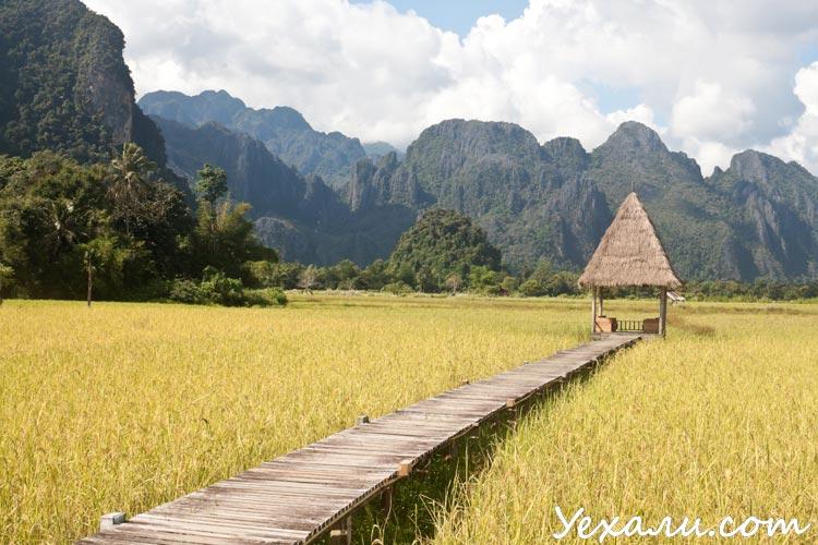 Фото Лаоса, Ванг Вьенг