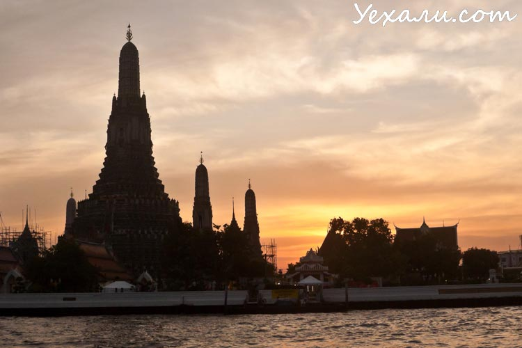 Экскурсия в Бангкок из Паттайи: Ват Арун