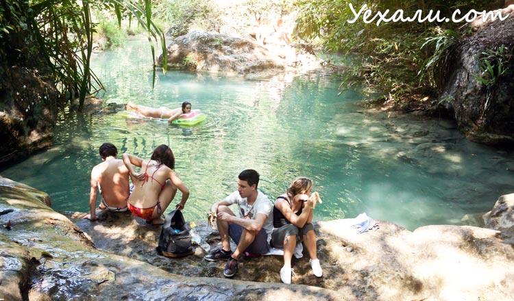Как отметить Новый год в Тайланде: водопад Эраван