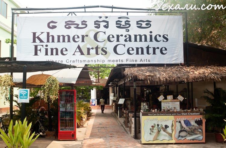 Керамическиймастер-класс в Камбодже