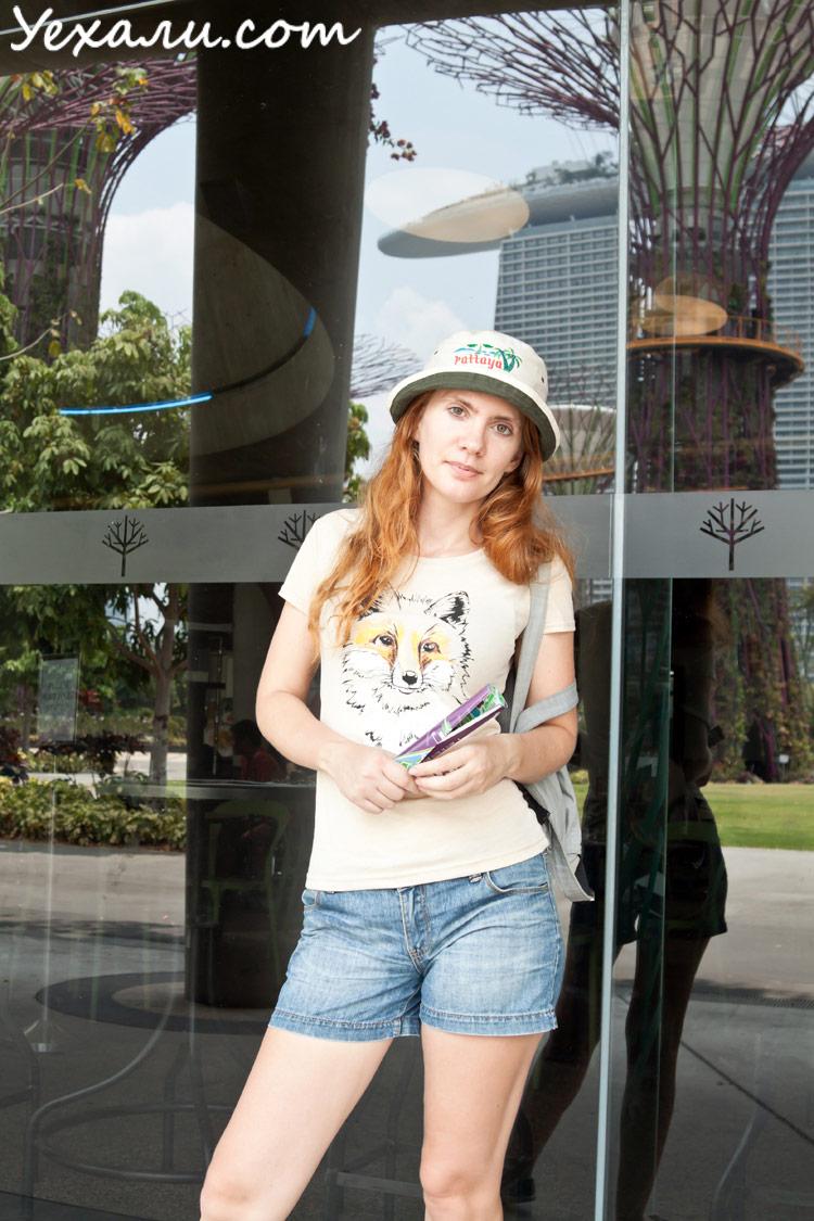 марина бэй сэндс сингапур фото
