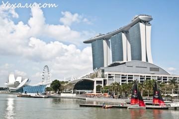 марина бей сингапур фото
