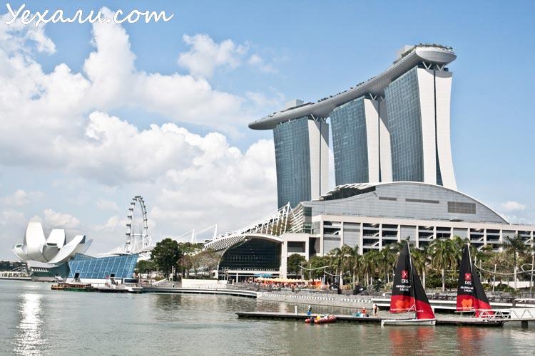 Сингапур, залив Марина Бэй.