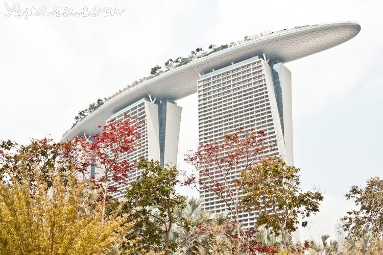 сингапур марина бэй фото