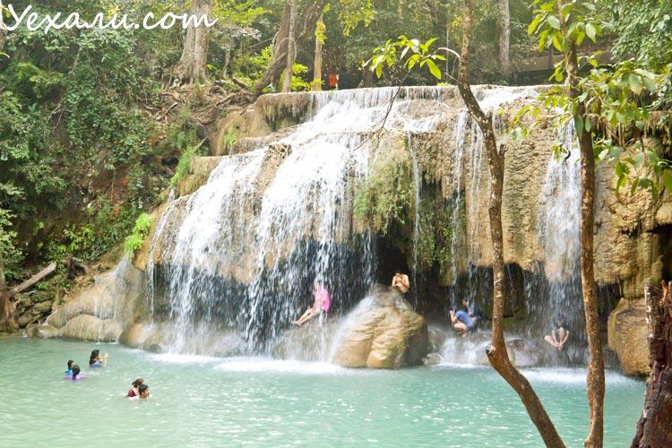 Из Паттайи в Канчанабури: водопад Эраван