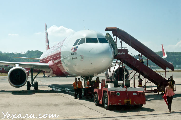 Как добраться из Куала-Лумпура на острова Малайзии: аэропорт Борнео