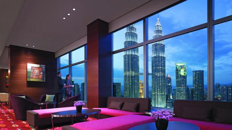 Лучшие отели Куала-Лумпура. На фото: Traders Hotel Kuala Lumpur.