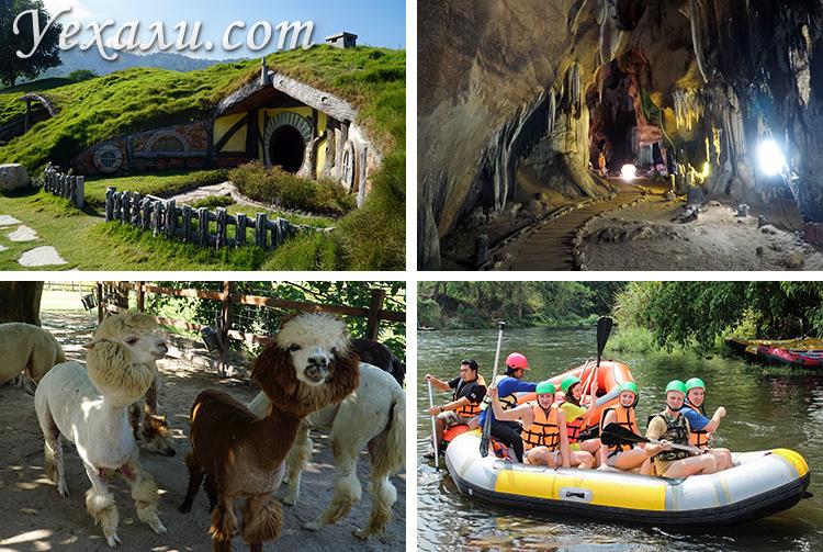 На экскурсиях из Паттайи вы можете посетить соседние провинции Таиланда, где вас также ждут удивительные места.