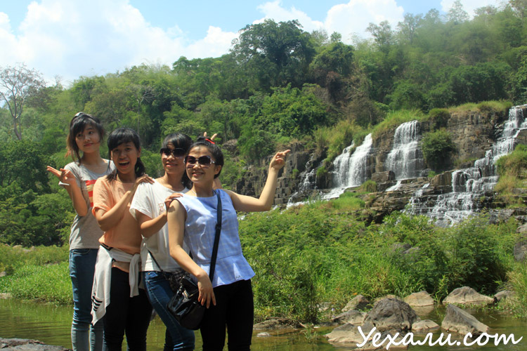 Вьетнамские девушки в Далате
