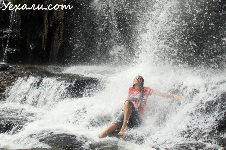 Водопад Понгур недалеко от Далата