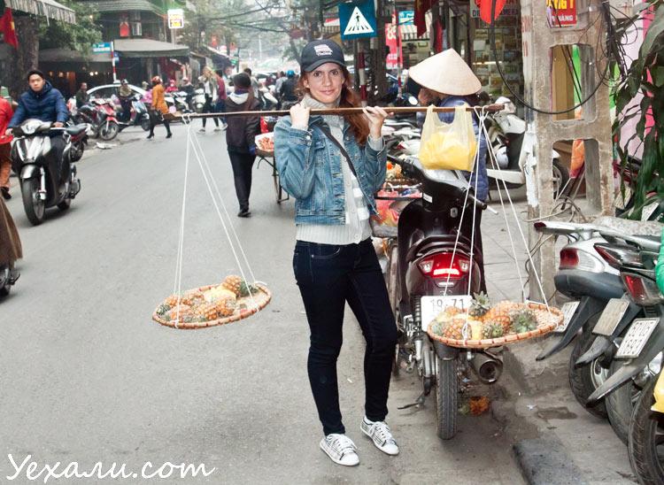 Ханой, центр города, торговля